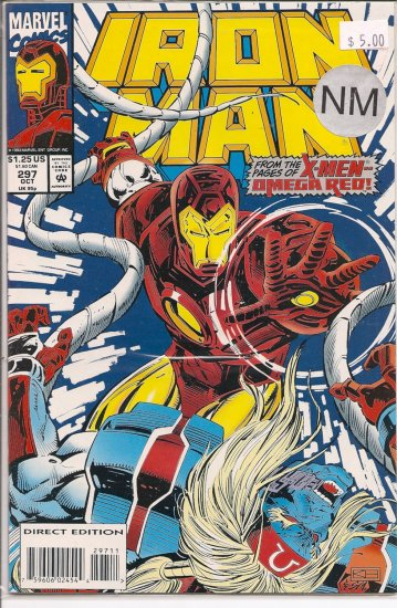 Iron Man # 297, 9.4 NM