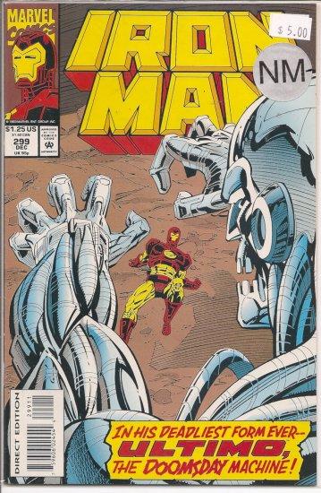 Iron Man # 299, 9.2 NM -