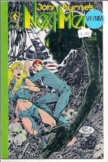 John Byrne's Next Men # 4, 9.0 VF/NM
