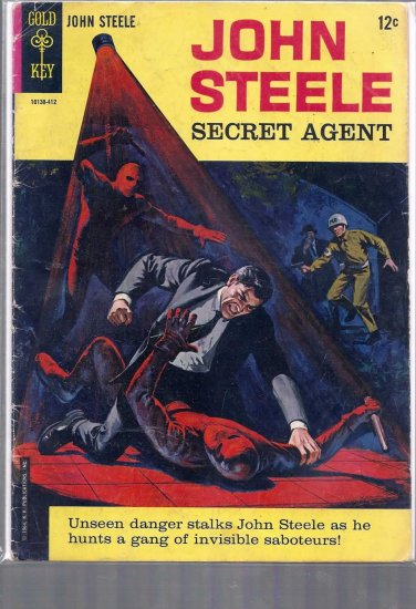 JOHN STEELE SECRET AGENT # 1, 3.0 GD/VG