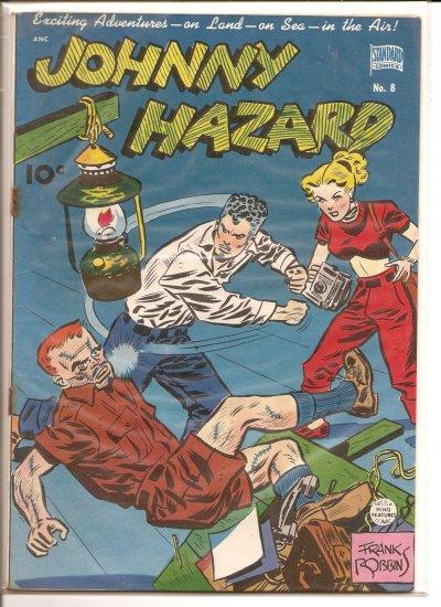 Johnny Hazard # 8, 2.5 GD +
