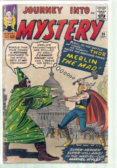 JOURNEY INTO MYSTERY # 96, 2.5 GD +