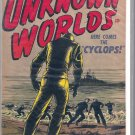 JOURNEY INTO UNKNOWN WORLDS # 50, 4.5 VG +