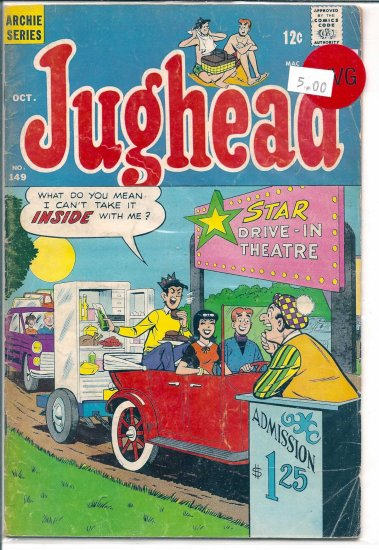 Jughead # 149, 4.0 VG