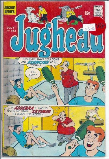 Jughead # 182, 4.5 VG +