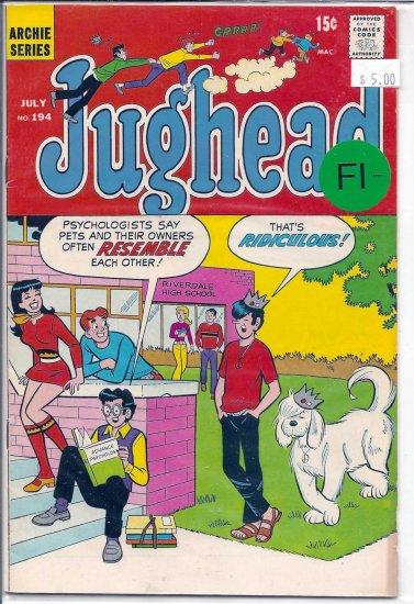 Jughead # 194, 5.5 FN -