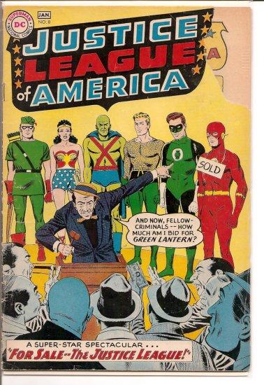 Justice League of America # 8, 2.0 GD