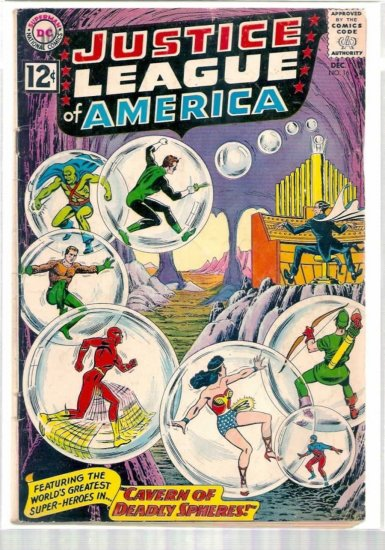 JUSTICE LEAGUE OF AMERICA # 16, 3.0 GD/VG