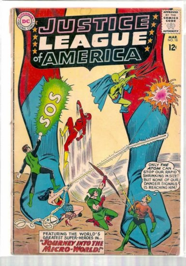 JUSTICE LEAGUE OF AMERICA # 18, 2.0 GD