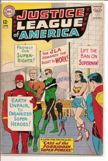 Justice League of America # 28, 4.5 VG +