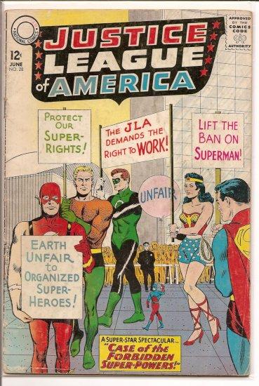 Justice League of America # 28, 2.5 GD +