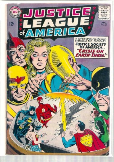 JUSTICE LEAGUE OF AMERICA # 29, 3.5 VG -