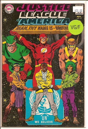 Justice League of America # 57, 5.0 VG/FN