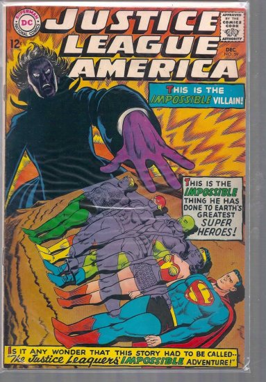 Justice League of America # 59, 6.0 FN