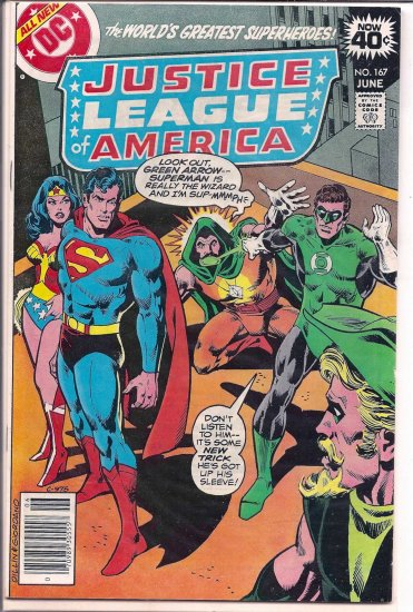 JUSTICE LEAGUE OF AMERICA # 167, 5.0 VG/FN