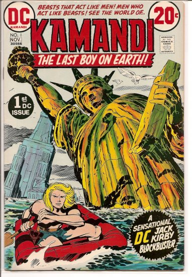 Kamandi, The Last Boy On Earth # 1, 4.5 VG +