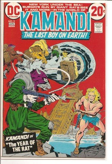Kamandi, The Last Boy On Earth # 2, 7.5 VF -