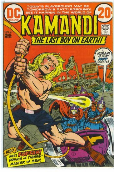 Kamandi, The Last Boy On Earth # 4, 8.0 VF