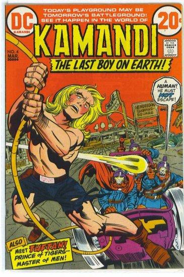 Kamandi, The Last Boy On Earth # 4, 7.0 FN/VF