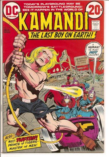 Kamandi, The Last Boy On Earth # 4, 6.5 FN +