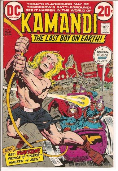 Kamandi, The Last Boy On Earth # 4, 6.0 FN
