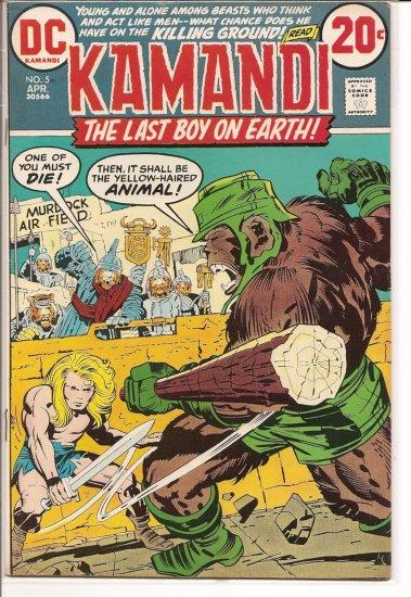 Kamandi, The Last Boy On Earth # 5, 4.5 VG +