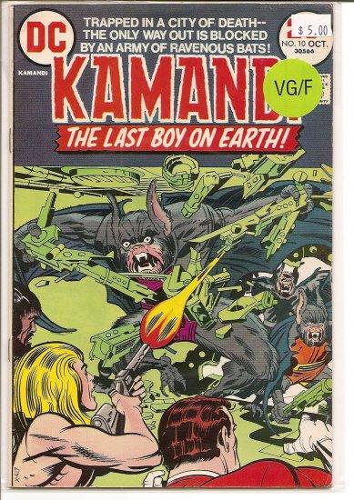 Kamandi, The Last Boy On Earth # 10, 5.0 VG/FN