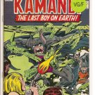 Kamandi, The Last Boy On Earth # 10, 5.0 VG/FN