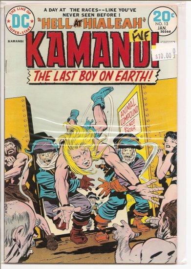 Kamandi, The Last Boy On Earth # 13, 7.0 FN/VF