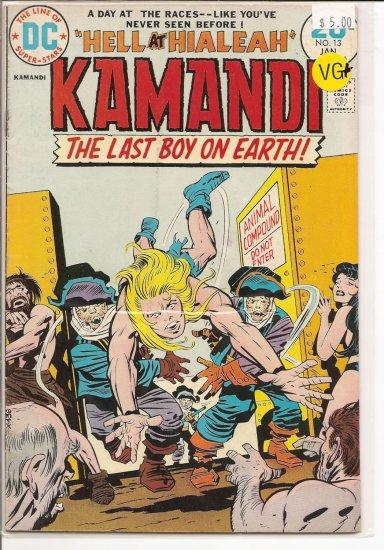 Kamandi, The Last Boy On Earth # 13, 4.5 VG +