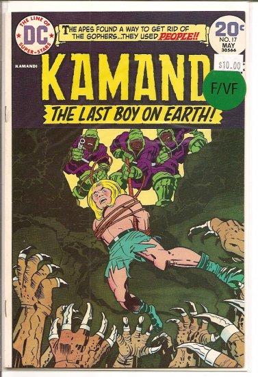 Kamandi, The Last Boy On Earth # 17, 7.0 FN/VF