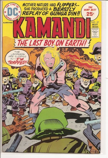 Kamandi, The Last Boy On Earth # 27, 6.5 FN +