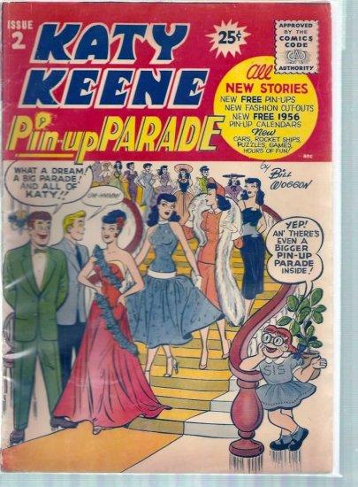 KATY KEENE PIN-UP PARADE # 2, 4.0 VG