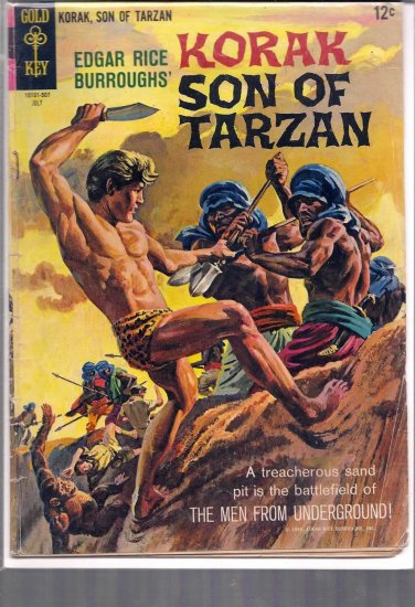 KORAK, SON OF TARZAN # 9, 3.5 VG -