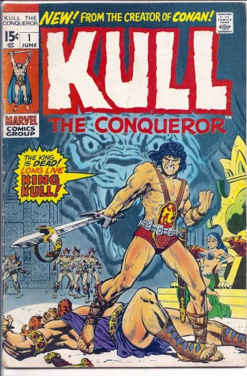 KULL THE CONQUEROR # 1, 4.0 VG