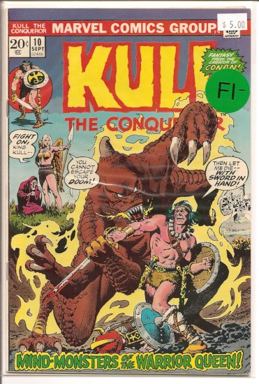 Kull The Conqueror # 10, 5.5 FN -