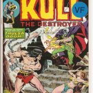 Kull the Conqueror # 12, 8.0 VF