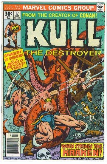 Kull The Destroyer # 17, 7.0 FN/VF