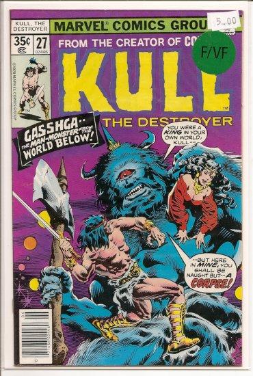 Kull The Destroyer # 27, 7.0 FN/VF