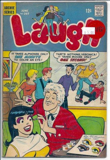 Laugh Comics # 207, 4.5 VG +