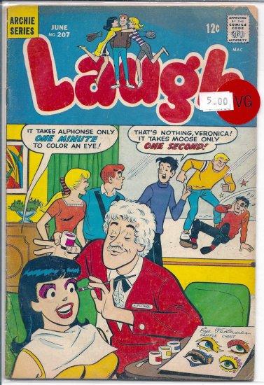 Laugh Comics # 207, 4.0 VG