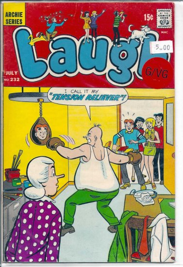 Laugh Comics # 232, 3.0 GD/VG