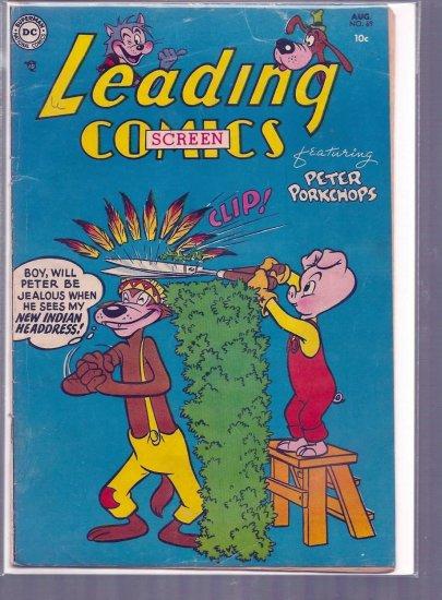 LEADING SCREEN COMICS # 69, 4.0 VG