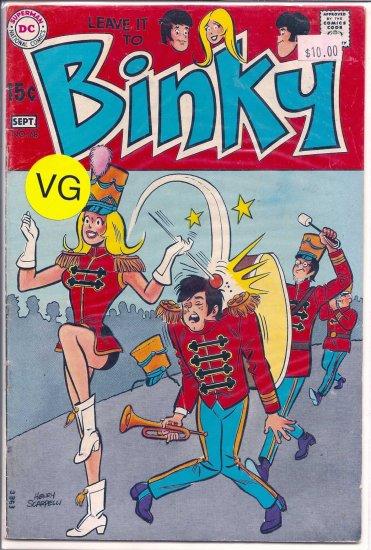 LEAVE IT TO BINKY # 68, 4.0 VG