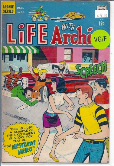 Life With Archie # 68, 5.0 VG/FN