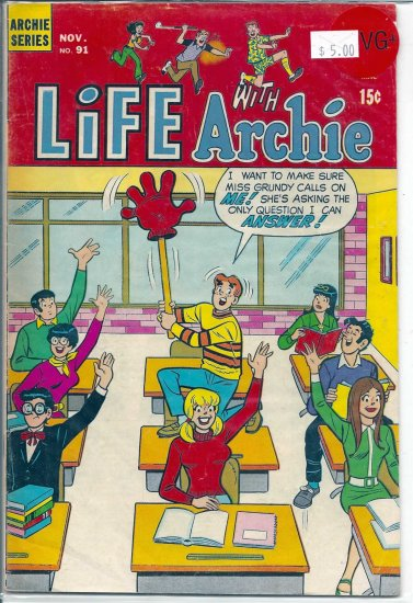 Life With Archie # 91, 4.5 VG +