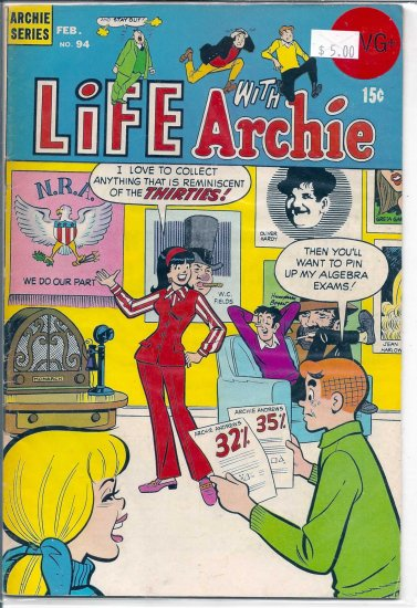 Life With Archie # 94, 4.5 VG +