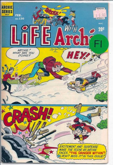 Life With Archie # 130, 6.0 FN