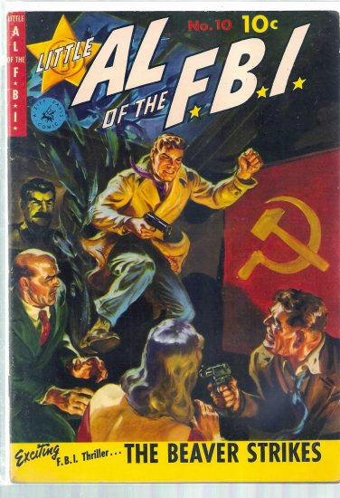 LITTLE AL OF THE F.B.I. # 10, 5.0 VG/FN