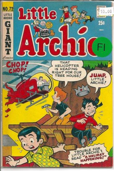 Little Archie # 72, 6.5 FN +